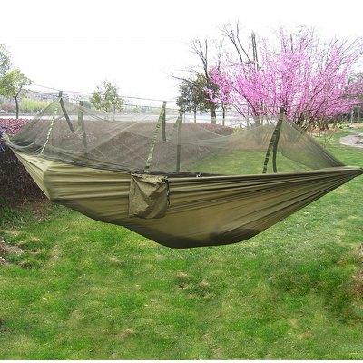 Image of   Army Green Hængekøje med myggenet