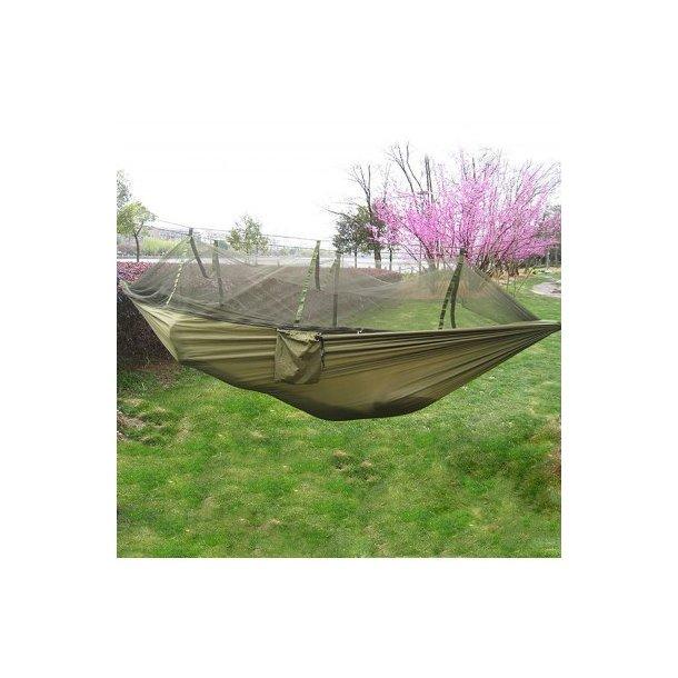 Army Green Hængekøje med myggenet