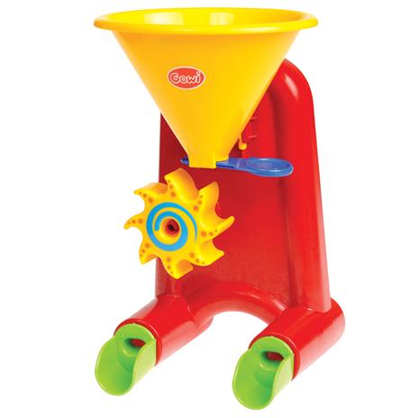 Image of   Gowi Toys - Lille vand- og sandmølle