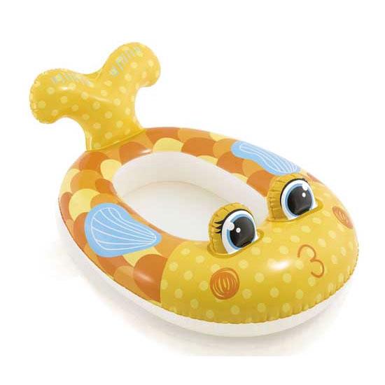 Image of   Børnebåd der ligner en Gul Fisk