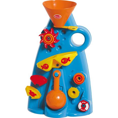 Image of   Mølle til både vand og sand i blå - Gowi Toys