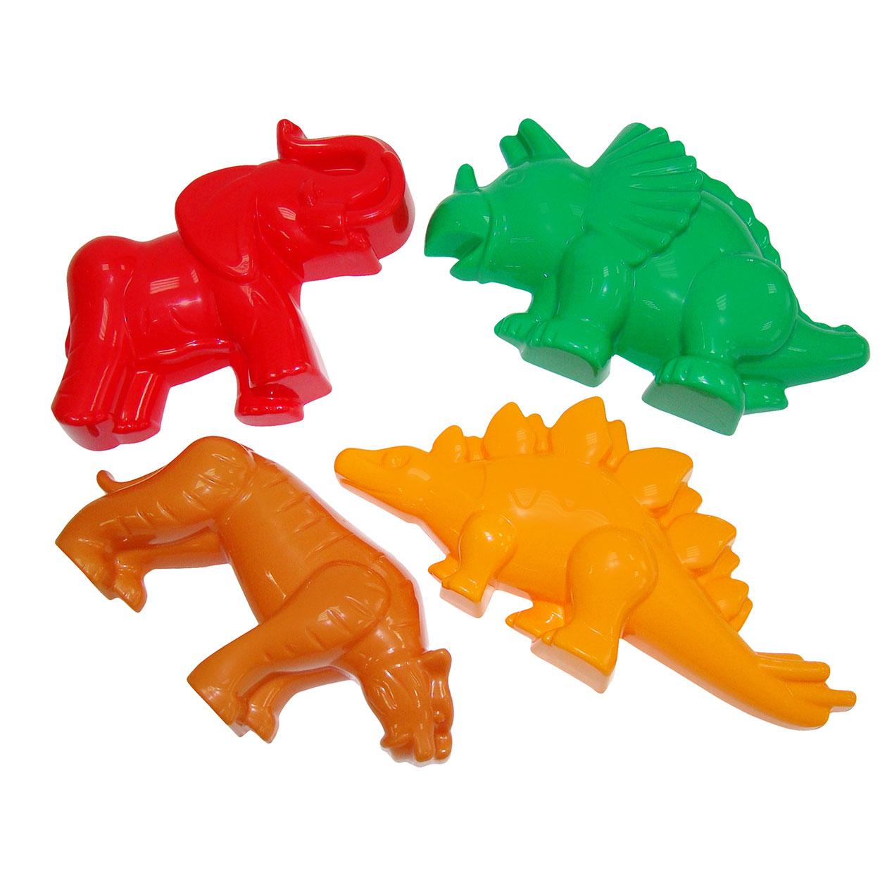 Billede af Seje dinosaurer og vilde dyr - Sandform