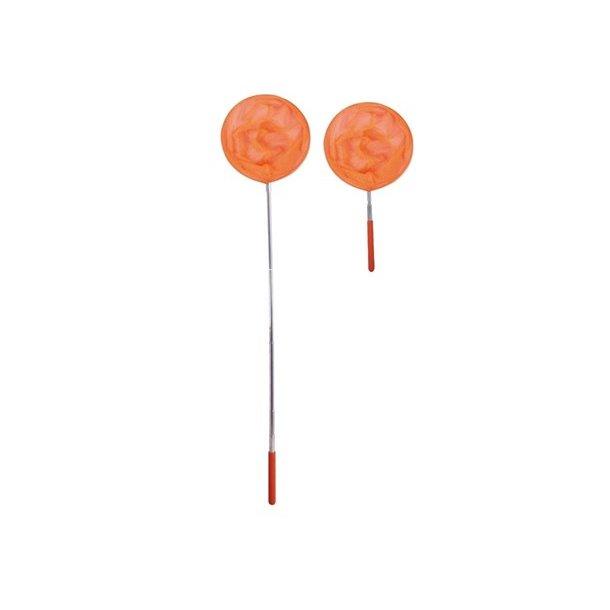 Orange Fiskenet Teleskop model - Perfekt til leg ved stranden