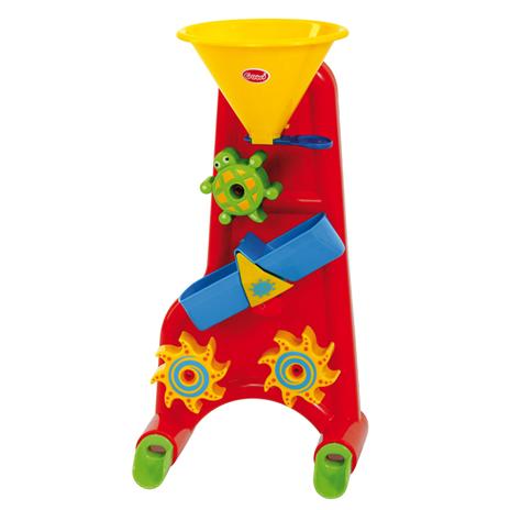 Image of   Mølle til både vand og sand i rød - Gowi Toys