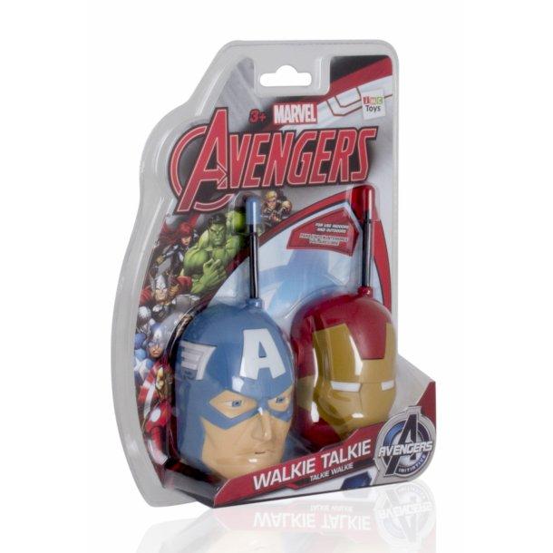Avengers Walkie sæt - Med Iron Man og Captain America