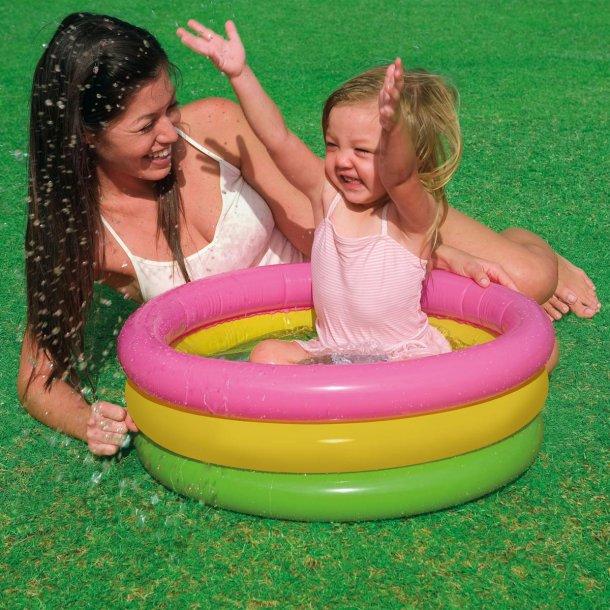 Baby pool med 3 ringe