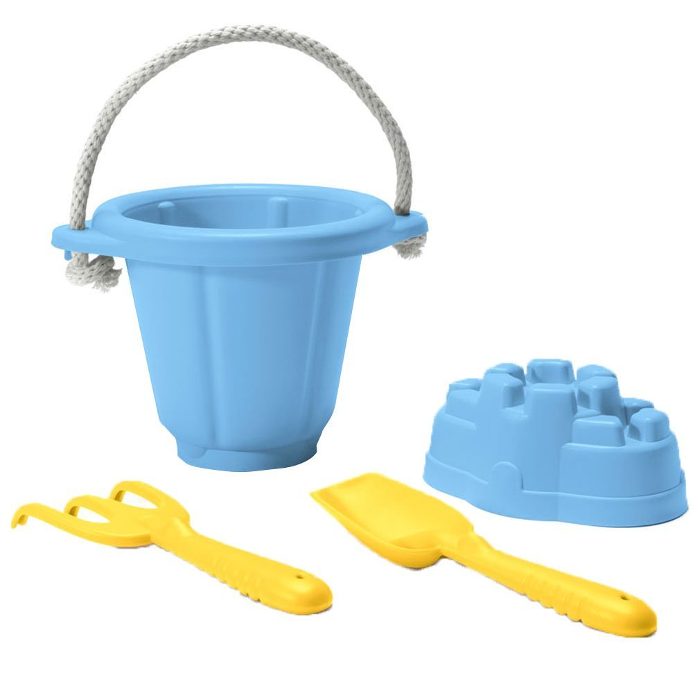 Image of   Green Toys - Blue Sand Play Set lavet af 100% genbrugsplastik