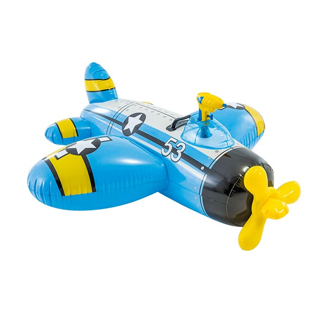 Image of   Flyvemaskine badedyr med vandpistol