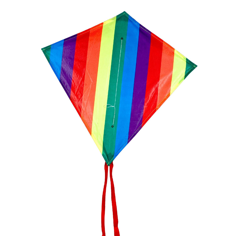 Image of   Rainbow junior diamant drage - Rhombus