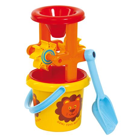 Image of   Gowi Toys - Strandsæt med spand og mølle