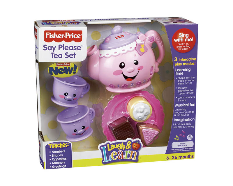 Fisher Price Laugh And Learn Tea Set Fisher Price Tea Set ...