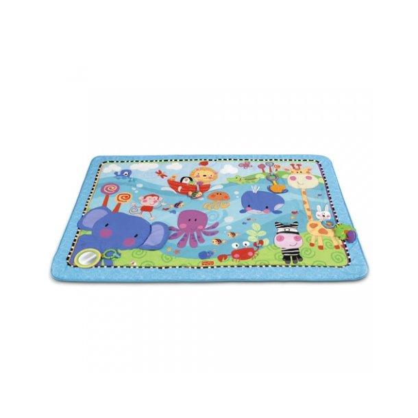 Kendte Fisher Price Discover & Grow Jumbo Legetæppe LJ-56
