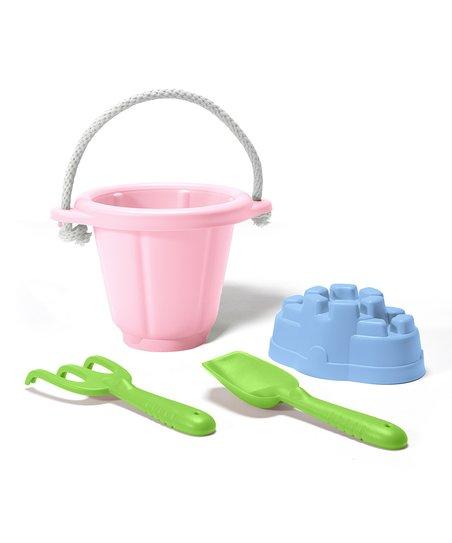 Image of   Green Toys - Pink Sand Play Set lavet af 100% genbrugsplastik