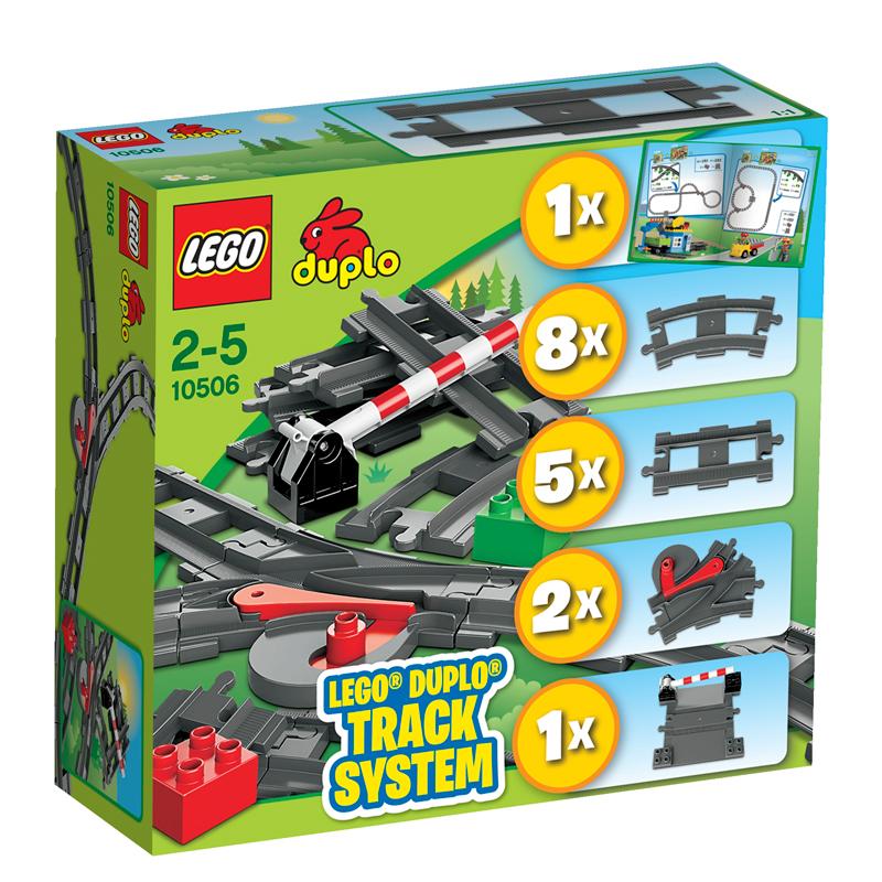 Højmoderne LEGO Duplo Tilbehørssæt til tog - LEGO Duplo & BIG Bloxx MB-42