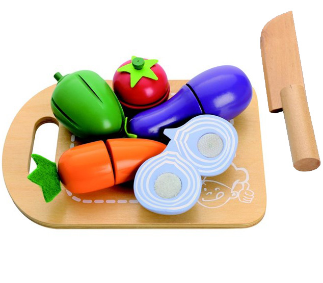 Grøntsagsbakke - Legemad fra MaMaMeMo - Indeleg - Kvalitets legetøj fra Maxileg
