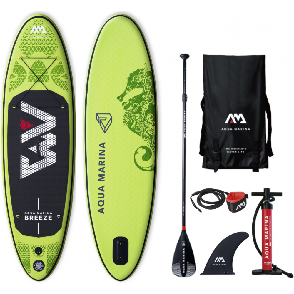 Image of Aqua Marina Breeze 2019 - Stand Up Paddle (275cm) 9/0""