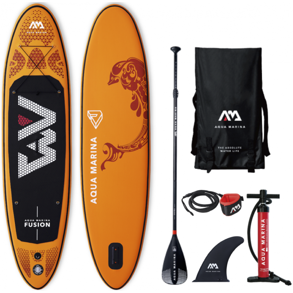 Image of   Aqua Marina Fusion 2019 - Stand Up Paddle (315cm) 10/4""