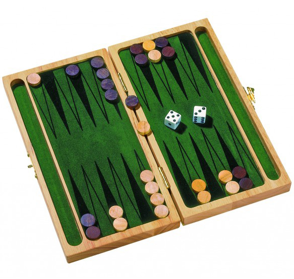Image of   Backgammon spil