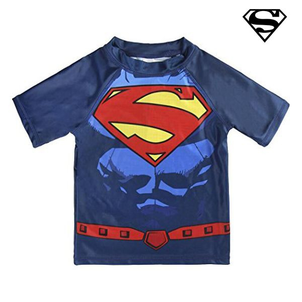 Image of   Supermand bade t-shirt - 2-3 år