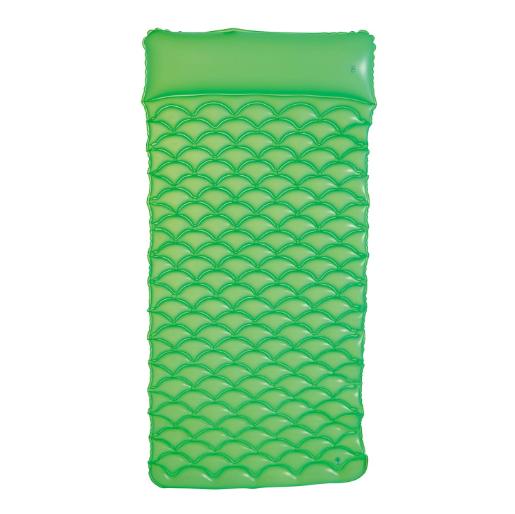 Billede af Oppustelig luftmadras - 213 x 86 cm - Grøn