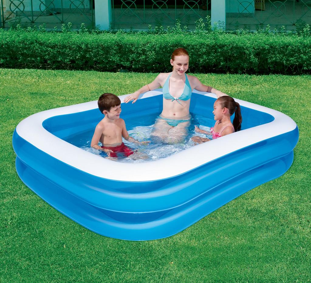 Familie badebassin 201x150x51cm - 450 Liter