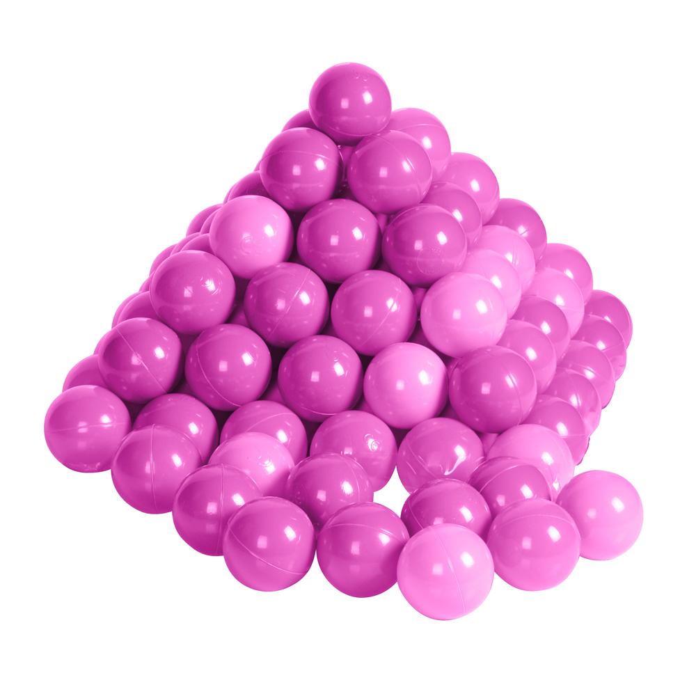 Image of   Bolde til legeteltet 100 stk. - Pink / Rosa