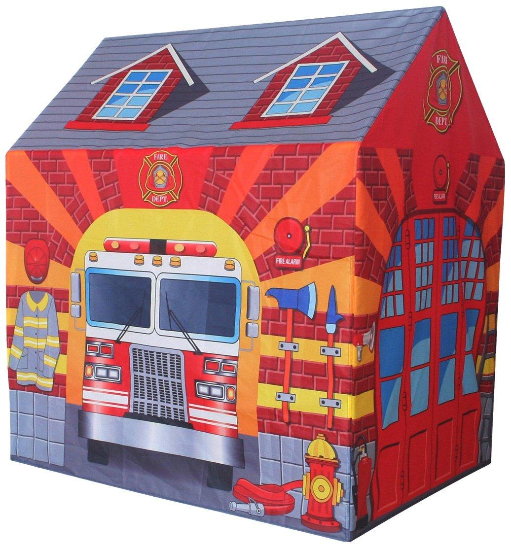 Image of   Brandstation legeteltet - Fungerer som et lille legehus