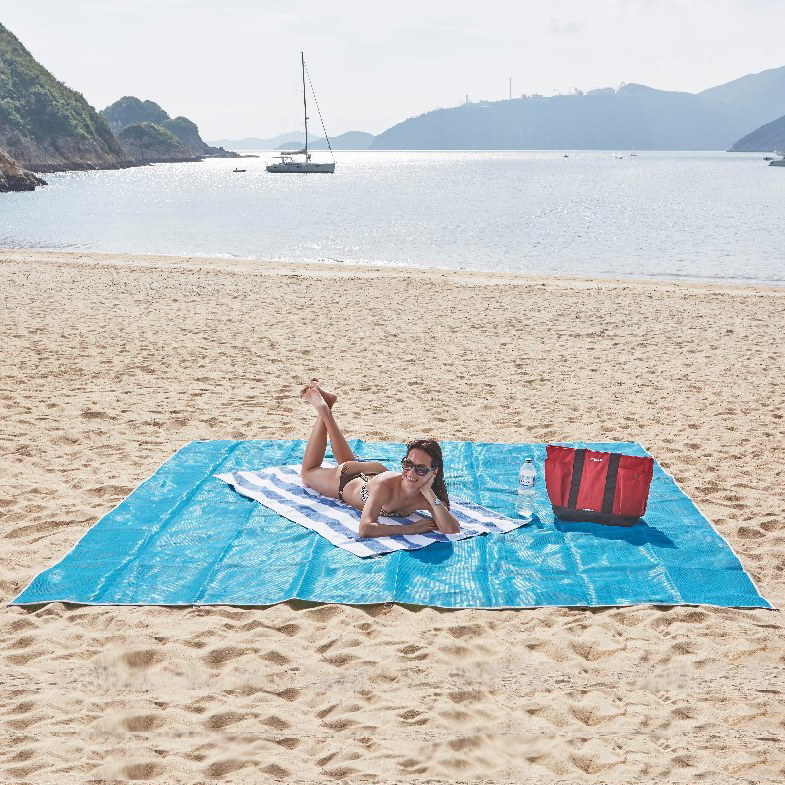 Image of   CGear Medium Sandfrit tæppe - 2,44 m x 2,44 m