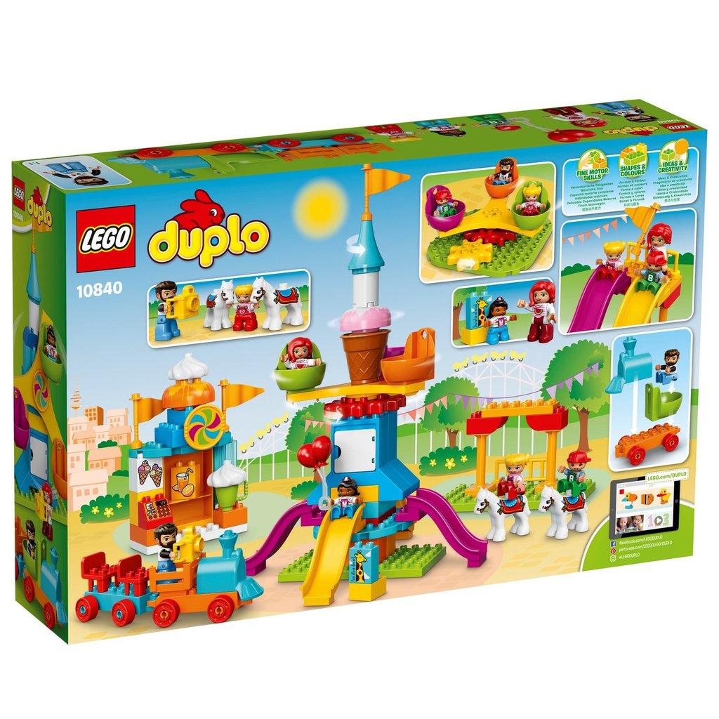 Kendte LEGO Duplo Stor Forlystelsespark - LEGO Duplo & BIG Bloxx JU-38