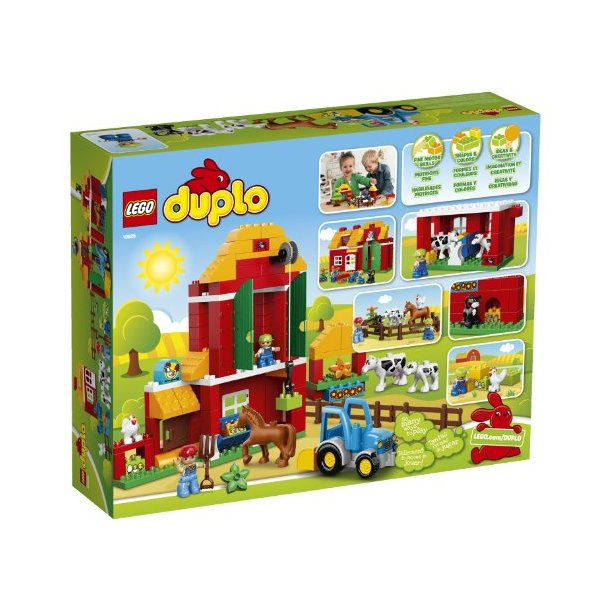 Lego Duplo Stor Bondegård Lego Duplo Big Bloxx Kvalitets