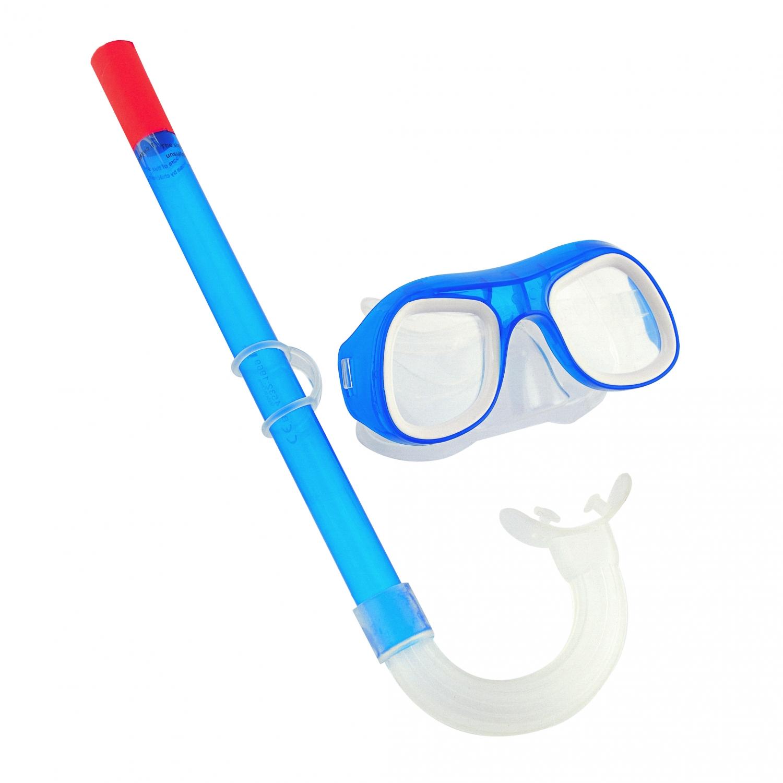 Image of   Dykkerbriller og snorkel til børn - Blå