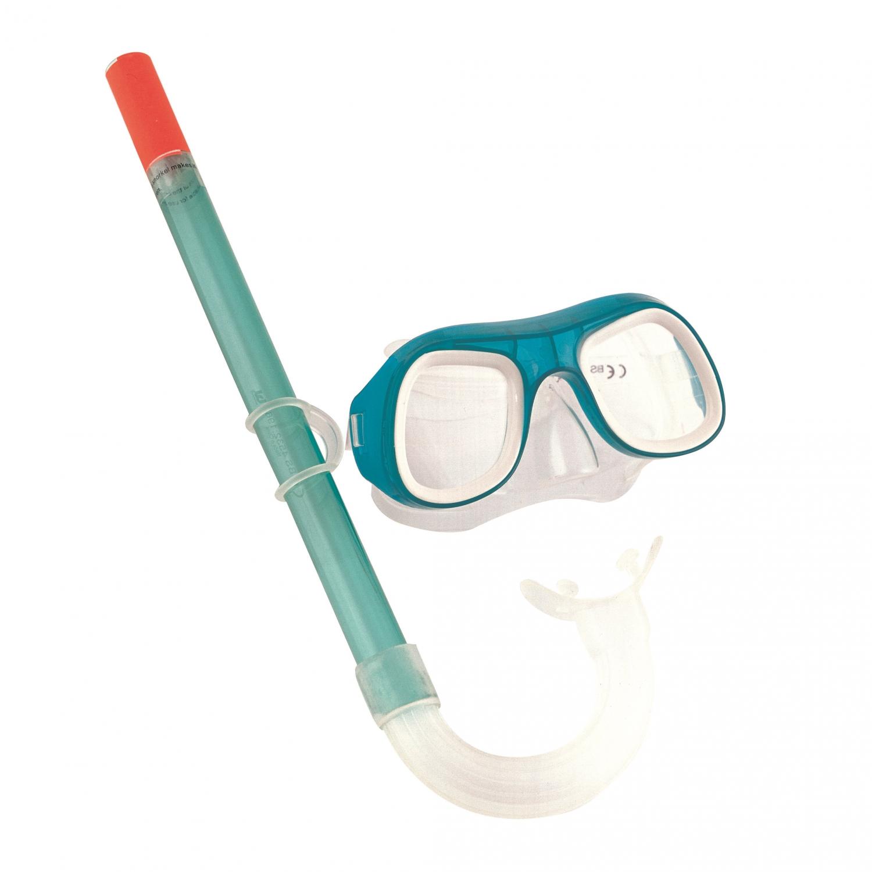 Image of   Dykkerbriller og snorkel til børn - Grøn
