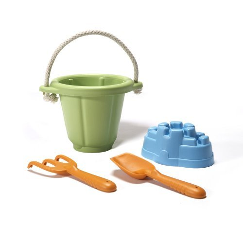 Image of   Green Toys - Green Sand Play Set lavet af 100% genbrugsplastik