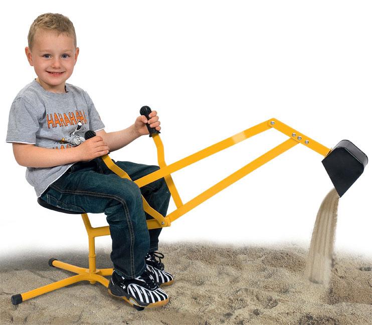 Image of   Klassisk gravemaskine til sandkassen