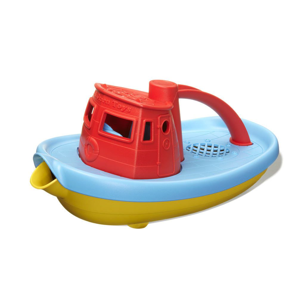 Billede af Green Toys - Trækbåd lavet af 100% genbrugsplastik