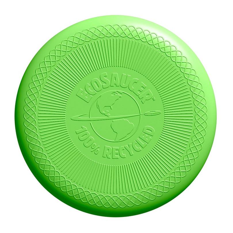 Image of   Green Toys - Grøn Frisbee lavet af 100% genbrugsplastik