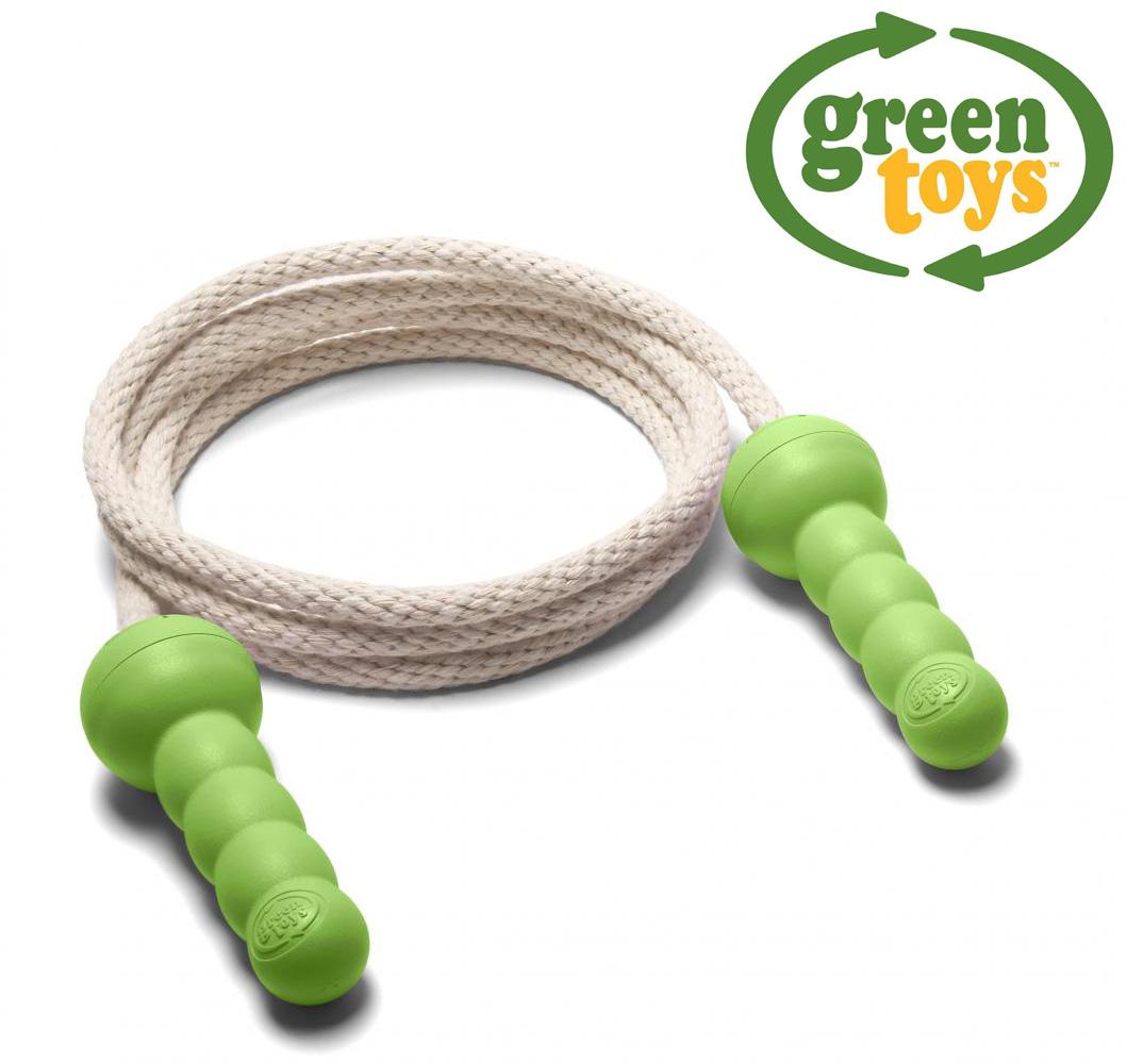 Billede af Grønt sjippetov fra Green Toys lavet af 100% genbrugsplastik