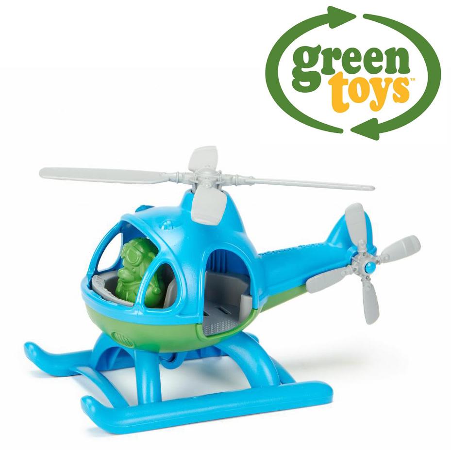 Image of   Green Toys - Blue Helicopter lavet af 100% genbrugsplastik