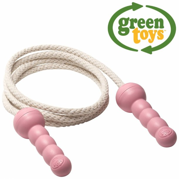 Pink sjippetov Green Toys lavet af 100% genbrugsplastik