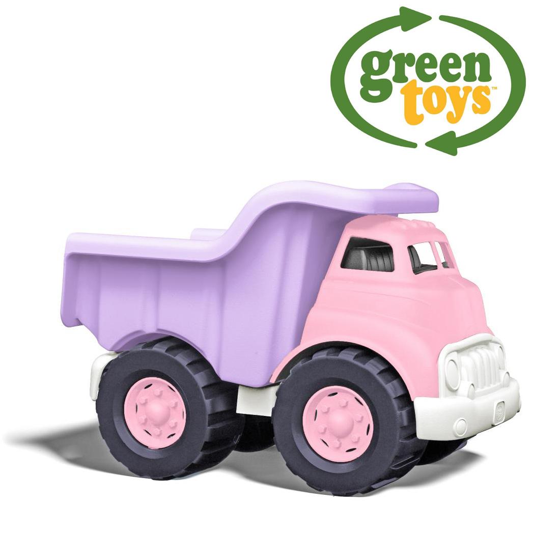 Image of   Green Toys - Pink Dump Truck Lastbil lavet af 100% genbrugsplastik