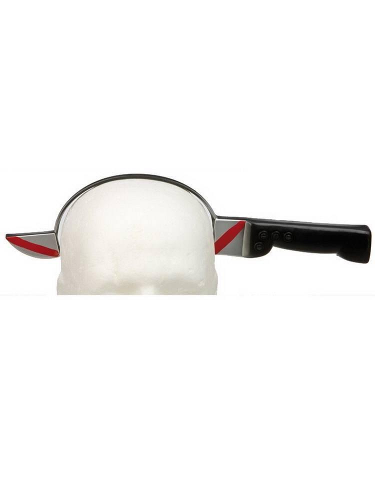 Halloween udstyr - Kniv igennem hovedet - Udklædning - Kvalitets legetøj fra Maxileg