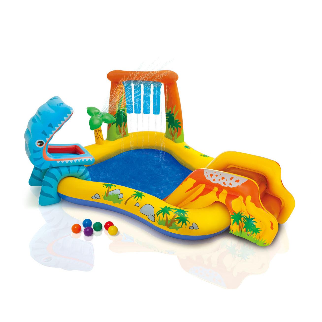 Image of   INTEX - Dinosaur play pool for børn