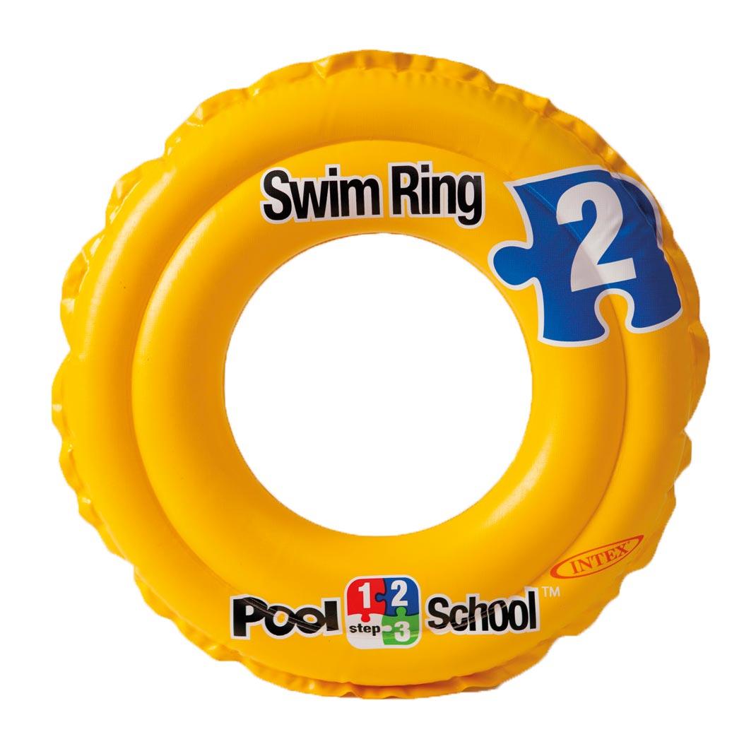 Billede af Intex school pool badering i gul - Ø 51 cm