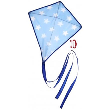 Image of   Blå drage med stjerne