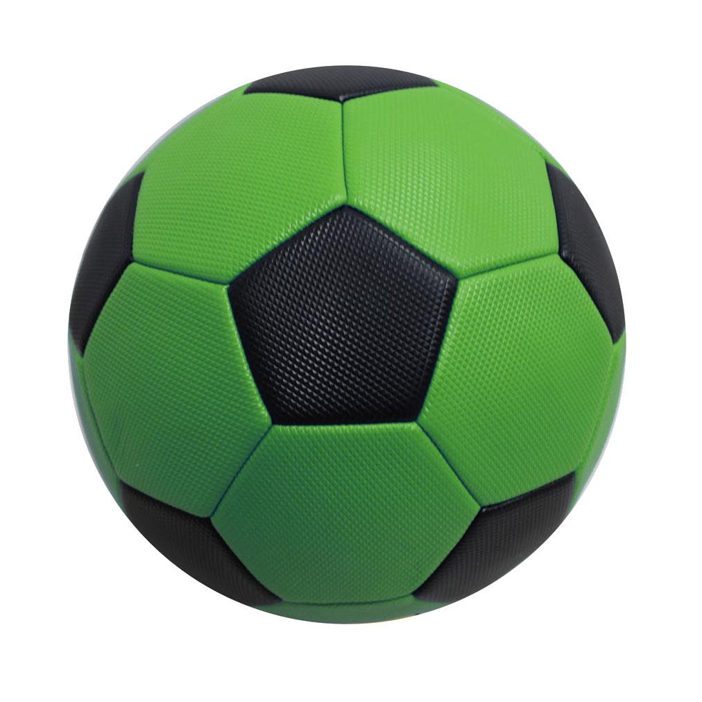 Billede af Læder fodbold - Ø 20 cm