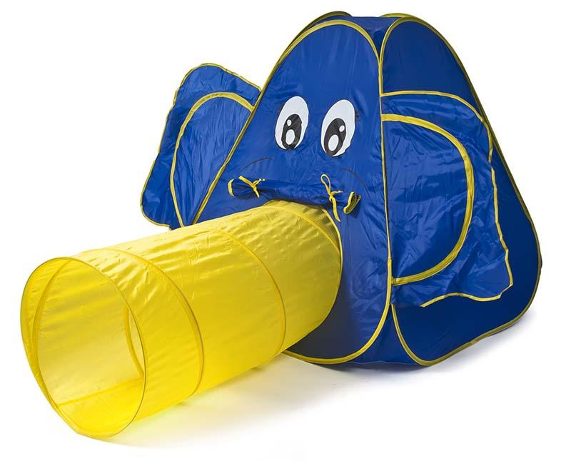 Image of   Elefant legetelt - med tunnel