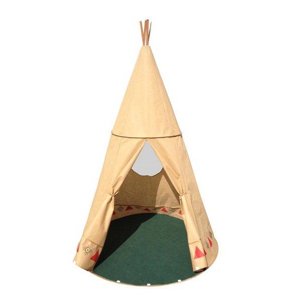 Frisk Tipi telt til børn fra MaMaMeMo - Tepee Legetelt - Udeleg LF-69