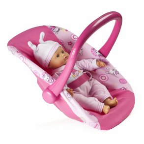 Top Mini Mommy - Dukke tvillingeklapvogn - Indeleg - Kvalitets legetøj XN29