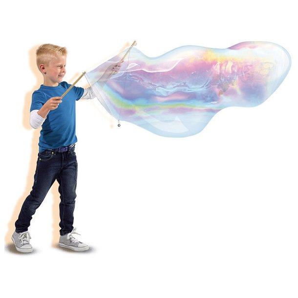 Mega Bubble fra SES Creative - Nu kan du lave dine egne kæmpe sæbebobler