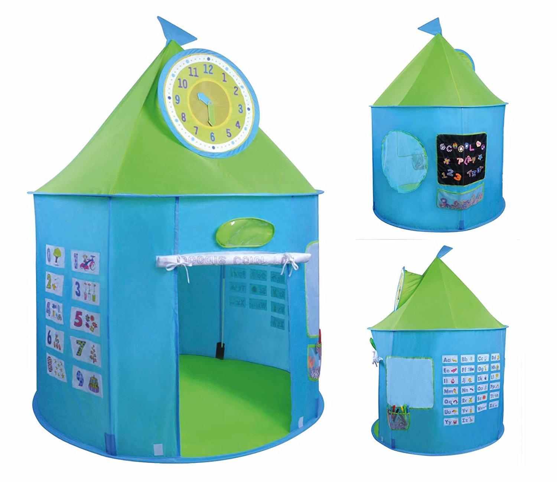 Image of Aktivitet legetelt - Lær klokken, tal og bogstaver